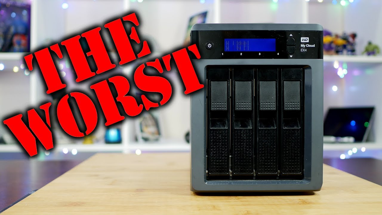 Western Digital My Cloud EX4 NAS: The WORST Tech I've Ever Owned