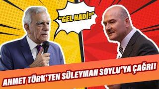 Ahmet Türk'ten Süleyman Soylu'ya çağrı!