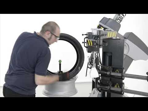 EN I Beissbarth MS 670 Tyre Changer   Demo