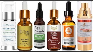 Top 10 Vitamin C serum For Face in india With Price