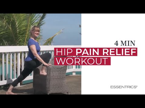 Essentrics mini workout for hip pain relief