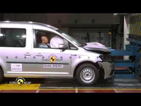 Euro NCAP Crash Test of VW Caddy 2015 - YouTube