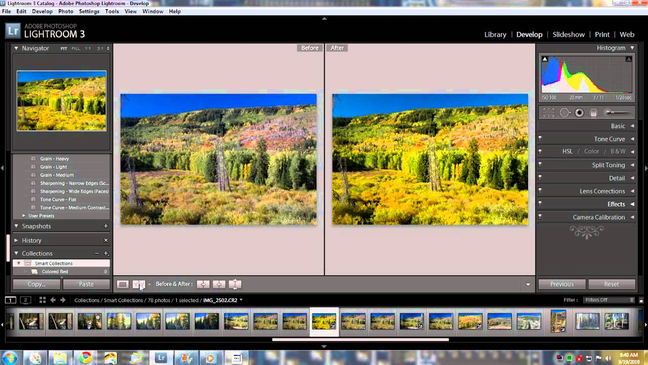How to convert photos from RAW format to JPEG