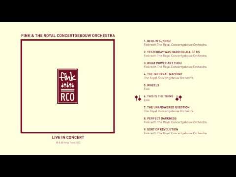 Fink - 'This Is The Thing'