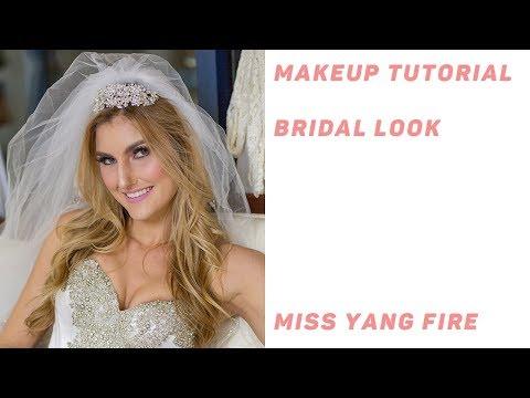 Makeup Tutorial - Bridal (Western) Look - Miss Yang Fire