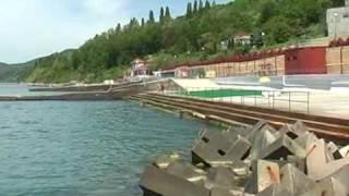 Видео ролик санаторий Автотранспортник России, Туапсе