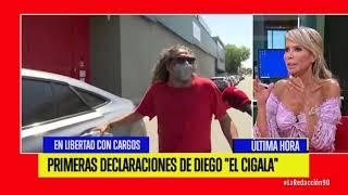 Primeras declaraciones de Diego El Cigala tras ser puesto en libertad