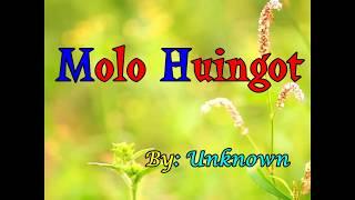 Download Lagu Batak Molo Huingot MP3 song and Music Video
