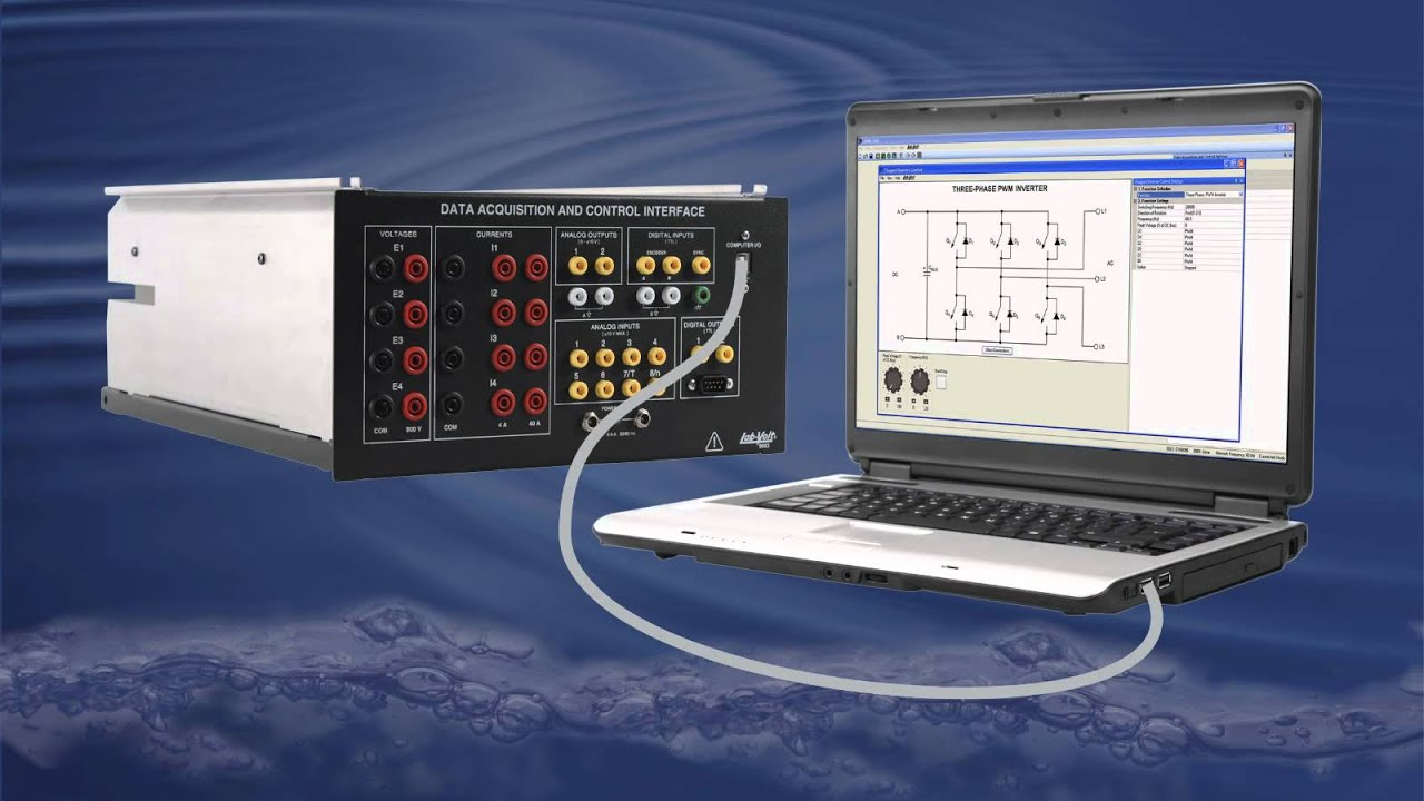 Data Acquisition And Control : Data acquisition and control interface labvolt series