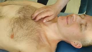 Массаж. Массаж спины при остеохондрозе.