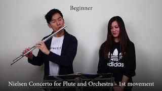 Professional vs Beginner Flute