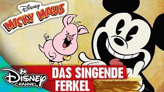 MICKY MAUS SHORTS - Das singende Ferkel | Disney Channel