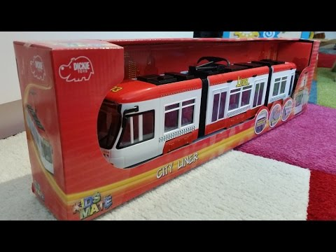 "Dickie Toy Tram ""City Liner,, 
