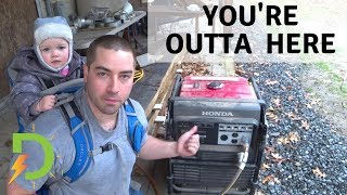 Real Power Outage, Aims Inverter Whole-House Backup