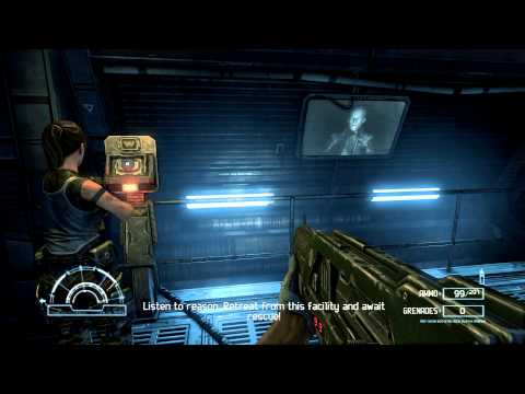 Aliens vs. Predator (2010) PC: Marine - Mission 5: Research Lab - Gameplay
