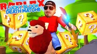 ROBLOX Adventure - LUCKY BLOCK MADNESS!!!