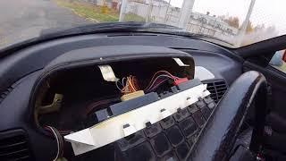 Замена лампочек в приборной панели ВАЗ 2110 12