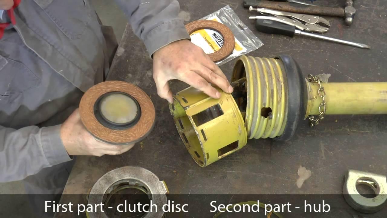 Walterscheid Pto Slip Clutch Service Youtube