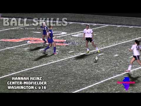 [ Sports4daGirls ] Washington Lady Panthers Center-Midfielder Hannah Heinz c/o'16