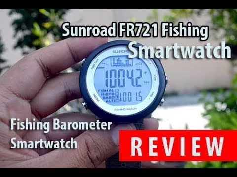 Sunroad FR721 Fishing Smartwatch Review