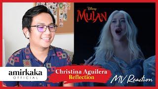 Reaction   christina aguilera - reflection (2020) mv reaction, tak sabar weiiiiiiiiii