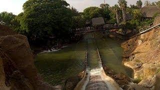 Tutuki Splash - On Ride - POV - Front Seat - PortAventura - HD