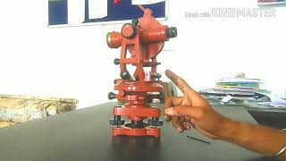 Parts Of Theodolite in Hindi_must watch