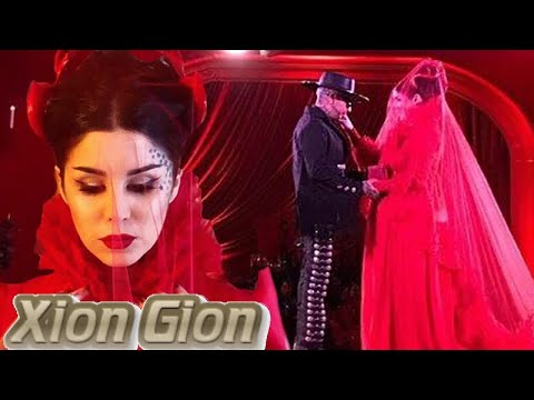 Kat Von D\'s Red Wedding Dress Is Lydia from Beetlejuice Meets, Well ...
