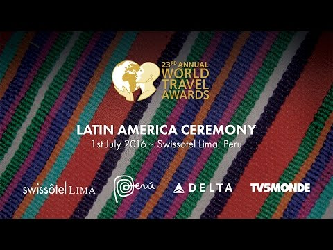 World Travel Awards Latin America Ceremony 2016 Highlights