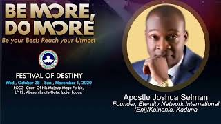 Apostle Joshua Selman Live @ RCCG Court of His Majesty Day2 Second Session