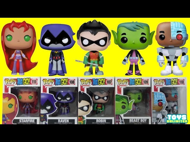 teen-titans-go-funko-pop-complete-set-of-villains-and-superheroes