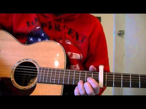Here comes the sun intro guitar lesson / tutorial