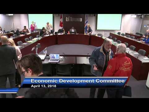 Economic Development Committee - April 13, 2018