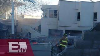 Explosión en Hospital Materno Infantil de Cuajimalpa (ÚLTIMA HORA) / Explota pipa de gas