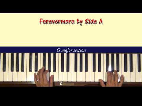Piano piano chords of forevermore : Forevermore by Side A Piano Tutorial - YouTube