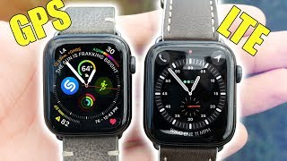 Apple Watch LTE vs GPS - Is The Cellular WORTH IT!?