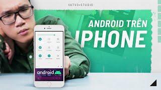 CHÍNH THỨC| Đã cài được ANDROID lên iPhone!