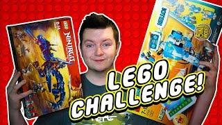 ROZPOCZYNAM NOWY LEGO CHALLENGE!