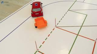 L-SIM Wjazd przyczepą tyłem do garażu
