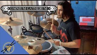 Omnium Gatherum - Living In Me - Drum cover