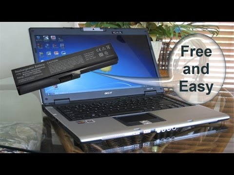 "Laptop Battery not charging ""plugged in, not charging"" Free Easy Battery Fix"