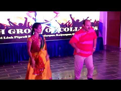 Sanjeev Shrivastav (Dabbu Uncle) Rocking Performance In Ebenezer Hr Sec School