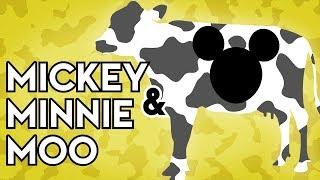 Mickey and Minnie Moo