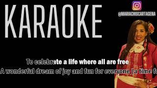 Melanie Thornton - Wonderful Dream (Holidays Are Coming) (Radio Version) (Karaoke)