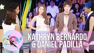 Repeat youtube video Vice Ganda plays with Kathryn-Daniel standees