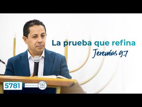 Havdala Shemot 5781- La prueba que refina, Jer. 9:7