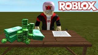 RobLOX Animación (ROBLOX Animation) Minh fue engañado 100000 Robux MinhMaMa
