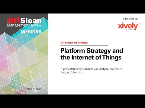 Platform Strategy and the Internet of Things