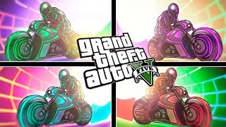 GTA V: 4 MOTOS DO TRON ‹ AMENIC ›