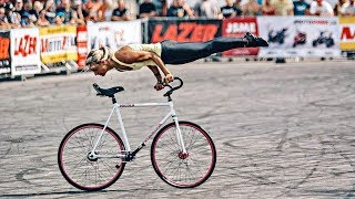 Amazing Bicycle Stunts by Nicole Frybortova